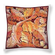 Acanthus Vine Design Throw Pillow