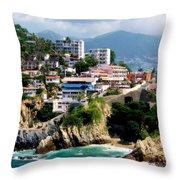 Acapulco Throw Pillow