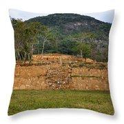 Acapulco Mexico Archaeological Site Throw Pillow