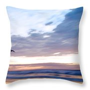 Accelerate Throw Pillow