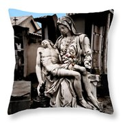 Accepting Fate  Throw Pillow