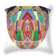 Accidental Art Visualizations Female Hands Loosen Their Shield On Bossoms And More Beneth It Throw Pillow