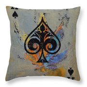 Ace Throw Pillow