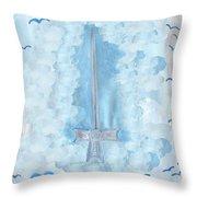 Ace Of Swords Throw Pillow