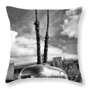 Ace Trailer Palm Springs Throw Pillow by William Dey