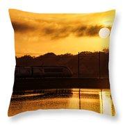 Acela Sunset Throw Pillow