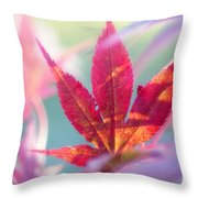Acer Beautiful Fall Throw Pillow