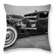 Aces Throw Pillow