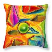 Achiever Throw Pillow by Leon Zernitsky