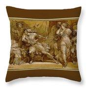 Achilles And Briseis Throw Pillow