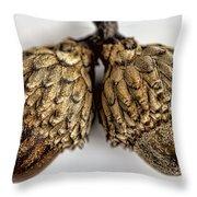 Acorns Throw Pillow