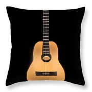 Acoustic Play Throw Pillow