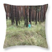 Acquaintance With Nature Throw Pillow