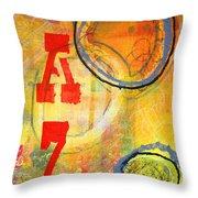 Acronym Throw Pillow