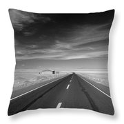 Across The Atacama Throw Pillow