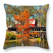 Across The Bridge Throw Pillow