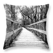 Across The Bridge Throw Pillow