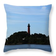 Across The Inlet Throw Pillow
