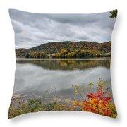 Across The Ohio River Throw Pillow