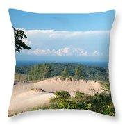 Across The Sand Throw Pillow