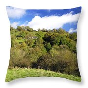 Across The Southern End Of Monk's Dale Throw Pillow