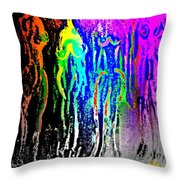 I Will Follow You Across The Universe But Do You Care At All  Throw Pillow