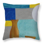 Acrylic 3d Msc 004 Throw Pillow