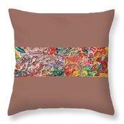 Acrylic  Madness Throw Pillow