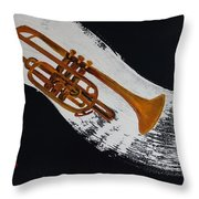 Acrylic Msc 117 Throw Pillow