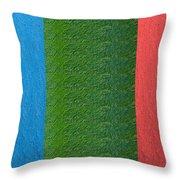 Acrylic Texture Plates Pattern Artistic Graphic Digital Signature Art  Navinjoshi Artist Created Ima Throw Pillow