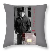 Actor In Christmas Ride Film Throw Pillow