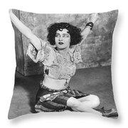 Actress Alla Nazimova Throw Pillow