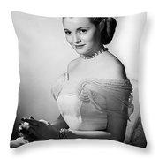 Actress Patricia Neal Throw Pillow