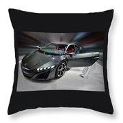 Acura N S X Sh Concept 2013 Throw Pillow