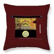 Ad  Pancho Villa Bar  Nogales Sonora Mexico 2013  Throw Pillow