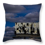 Ad Space Available Throw Pillow