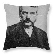 Adam Worth (1844-1902) Throw Pillow