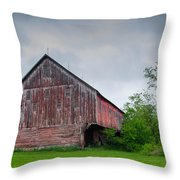 Adams County Barn 7d02923c Throw Pillow