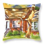 Adams Home Throw Pillow by Kip DeVore