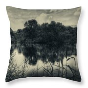 Adda River 3 Throw Pillow