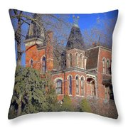 Addams Family House Throw Pillow