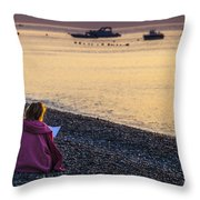 Addressing A Prayer For The New Day Throw Pillow