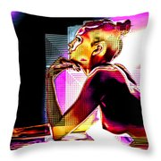 Adeline Topless 15 Throw Pillow