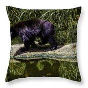 Adhd Bear Throw Pillow