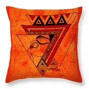 Adi Shakti Throw Pillow