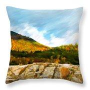 Adirondack Autumn Throw Pillow