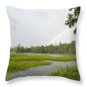 Adirondack Rainbow Treat Throw Pillow