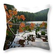 Adirondack Weekend Throw Pillow