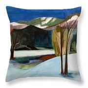 Adirondacks Throw Pillow