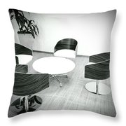 Adjourned In 1970 Throw Pillow